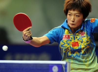 2009 China Open - Liu Shiwen vs Fan Ying / Parker Joanna