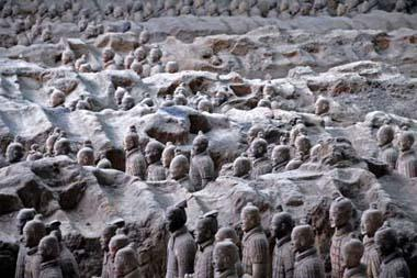 "Excavation work on the Chinese archeological wonder that is home of the ""Terra Cotta"" army -- is underway again."