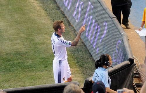 Beckham�fined�for�confronting�fan