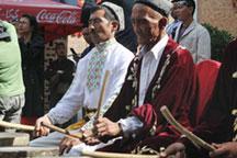 China´s Muslims celebrate Ramadan fast-breaking