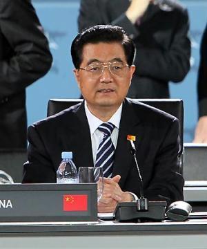 ChinesePresidentHuJintaoattendstheGroupof20(G20)FinancialSummitinPittsburghoftheU.S.,Sept.25,2009.(Xinhua/JuPeng)
