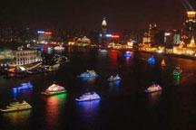 Atmosphere delighted in Shanghai to greet upcoming National Day
