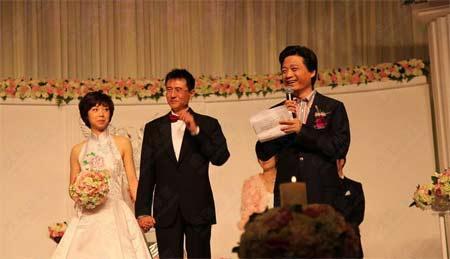 China'sOlympicandworldchampiontabletennisstarZhangYiningmarriedonSunday.