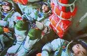 "Chinese taikonauts report they feel ""physically sound"""