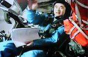Astronauts preparing for China´s first spacewalk