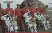 All taikonauts out of Shenzhou module