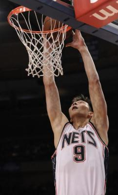 YI Jianlian, New Jersey Nets forward