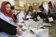 Ballots counting starts in Afghanistan